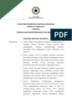 Peraturan Pemerintah No. 74 Tahun 2001 Tentang Pengelolaan Bahan Berbahaya Dan Beracun