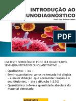 aula introdução ao imunodiagnóstico  OK