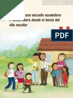 Guía Buena Acogida en la Escuela.