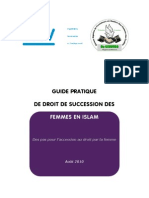 Guide Des Droits de Succession Des Femmes en Islam Final 2