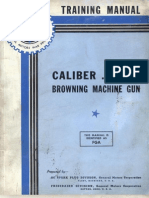 BROWNING M2 TrainingManual Caliber 50 M2 Browning Machine Gun USA 194..
