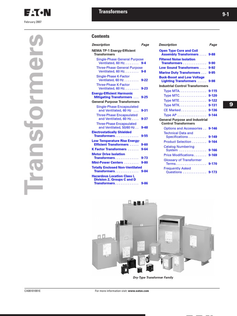 Wiring Diagram For Cutler Hammer Transformer : Eaton dry type transformer wiring diagram