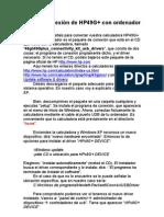 Guia de Conexion de HP49G v0.8