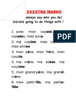 get extra marks at GCSE French 3