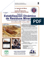 Estabilizacion Dinamica de Residuos Mineros