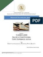13-2009. Inconstitucionalidad. Figura Del Fiscal Adjunto