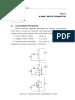 karakteristik transistor