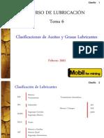 06. Clasificación de aceites y grasas lubricantes