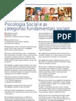 Categorias Sociais