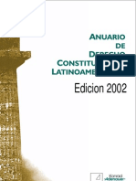 Anuario de Derecho Constitucional Latinoamericano 2002
