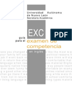 Guía Exci (Inglés)