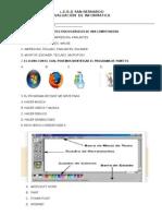 Evaluacion Tipo Icfes de Informatica 2013 Segundo y Te4rcero