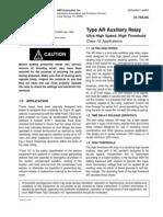 ABB AR Auxiliary Relay