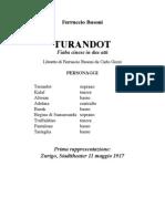 Busoni Turandot