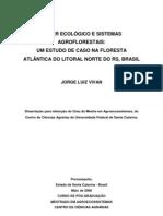 001 Saber Ecologico e Sistemas Agroflorestais