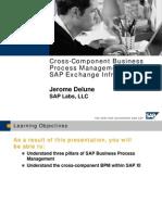 SAP NetWeaver - Cross-Component Business Process Management With XI 3[1].0