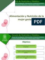 NUTRICIÓN DE LA GESTANTE SEPT 2012