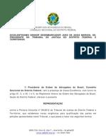 Representacao Oab Df Registro Cpf
