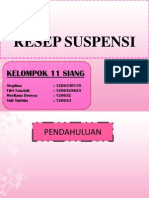 Suspensi  - suspension