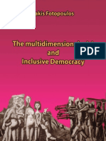 The Multidimensional Crisis and Inclusive Democracy (Book) - Takis Fotopoulos