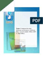 Trabajo_de Sofware Libree Vrs Sofware Con Licencia