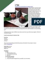 Lusty Chocolate Figs