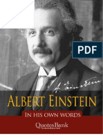 Einstein in His Own Words