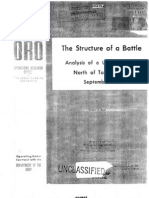 Structure of a Battle Near Taegu Korea Sep 1950 Research Study