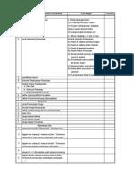 Checklist Kelengkapan Dokumen Penawaran