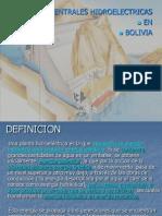 Introduccion a Las Plantas Hidroelectricas Bolivia