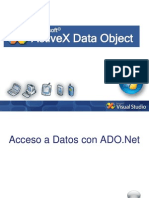 ActiveX Data Object ADO.net