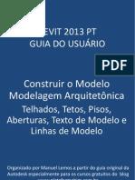 Revit 2013 PT Construir o Modelo Piso Teto Telhado