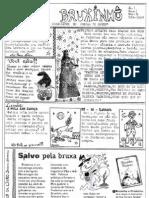 Jornal O Bruxinho - Suplemento Infantil nº 01 (Outubro - 2007)