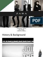 Zara Case Presentation
