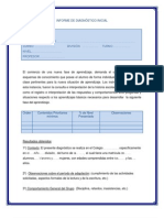 INFORME DE DIAGNÓSTICO INICIAL 2013