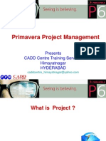 20173674 Primavera Project 201 Management302