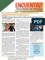BOLETÍN PROGRAMA ENCUENTRO Nº 63 (20080906)