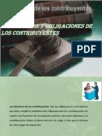 1.3 Derechos y Obligaciones de Los Contribuyentes