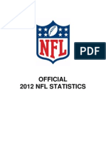 Official 2012 NFL Statistics Book