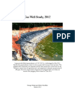 2012 Gas Well Study