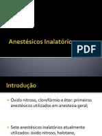 Anestésicos Inalatórios