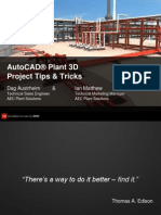 AutoCAD P & ID Quick Tips and Tricks