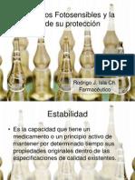Medicamentos Fotosensibles y la Importancia de su protección