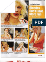 """""""Blondes Don't Have More Fun,"""" Shock magazine"""