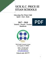 Price Preschool Handbook