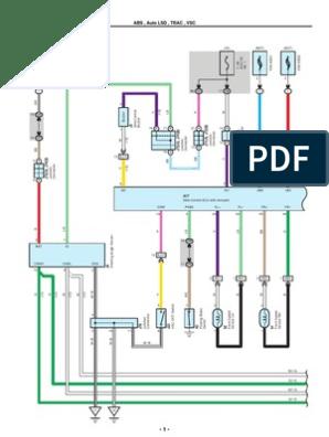 2007-2010 toyota tundra electrical wiring diagrams | anti lock braking  system | machines  scribd