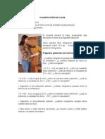 PLANIFICACIÓN DE CLASE MATEMÁTICAS YANEDIS