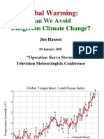 Can We Avoid Dangerous Climate Change_09Jan2007