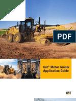 Caterpillar - Motor Grader Application Guide