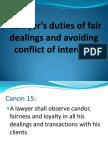 Conflict of Interest Presentation